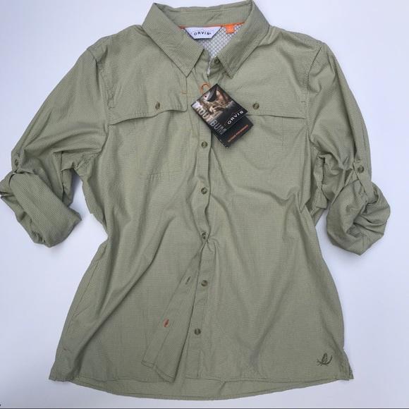 4310d8a0 Orvis Tops | Womens Open Air Casting Button Down Shirt | Poshmark